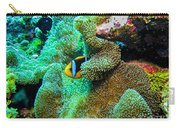 Clown2 With Anemone Carry-all Pouch