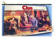 Clue Board Game Painting Carry-all Pouch