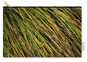 Clump Of Grass Texture Carry-all Pouch