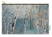 Cluster Of Birches Carry-all Pouch