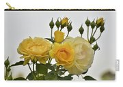 Cluster Of Yellow Roses Carry-all Pouch
