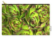 Clustered Succulents Carry-all Pouch