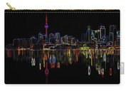Cn Tower Outline Carry-all Pouch