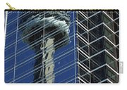 Cn Tower Reflected In A Glass Highrise Carry-all Pouch