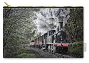 Coal Tank Engine In The Rain Carry-all Pouch