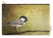 Coal Tit Periparus Ater Carry-all Pouch