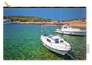 Coast And Beach Of Prvic Island Summer View Carry-all Pouch