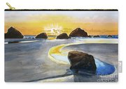 Coast Of Brandon, Oregon Carry-all Pouch