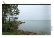 Coast Of Lake Huron Carry-all Pouch