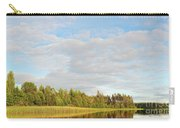 Coast Of Summer Lake Shined With Sun Beams Carry-all Pouch