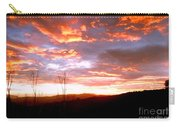 Costa Rican Mountain Valley Sunset Carry-all Pouch