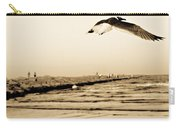 Coastal Bird In Flight Carry-all Pouch