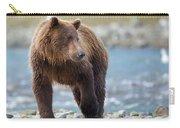 Coastal Brown Bear Carry-all Pouch