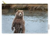 Coastal Brown Bears On Salmon Watch Carry-all Pouch