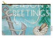 Coastal Christmas Card Carry-all Pouch