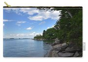Coastal Maine's Rocky Shore On A Beautiful Summer Day Carry-all Pouch