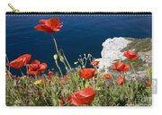 Coastal Poppies Carry-all Pouch