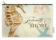 Coastal Waterways - Seahorse Serenity Carry-all Pouch