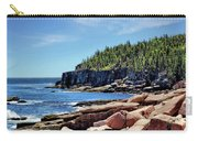 Coastline And Otter Cliff 3 Carry-all Pouch