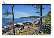 Coastline At Otter Point 1 Carry-all Pouch
