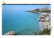 Coastline Of Nerja-spain Carry-all Pouch