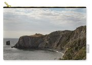 Coastline Of Skerwink Trail, Trinity, Newfoundland, Canada  Carry-all Pouch