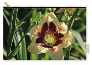 coat and tie Daylily Carry-all Pouch