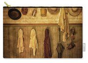 Coat Room At The Old Schoolhouse Carry-all Pouch