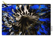 Cobalt Blue Wormhole Carry-all Pouch
