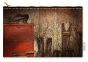 Cobbler - The Shoe Shiner 1900  Carry-all Pouch by Mike Savad