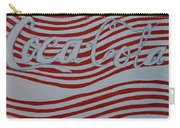 Coca Cola Antique Sign Carry-all Pouch