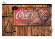 Coca Cola Barn Carry-all Pouch