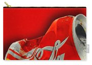 Coca-cola Can Crush Red Carry-all Pouch