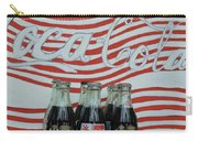 Coca Cola Olympic Commemorative Bottles Carry-all Pouch