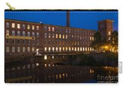 Cocheco Mills At Twilight Dover New Hampshire Carry-all Pouch