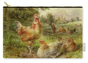 Cochin China Fowls Carry-all Pouch