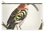 Cock Hoopoe Carry-all Pouch