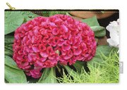 Cockscomb Flower Carry-all Pouch