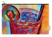 Cocktail Watercolor Carry-all Pouch