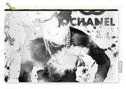 Coco Chanel Grunge Carry-all Pouch