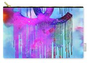 Coco Chanel Liquidated Logo Colorful Carry-all Pouch