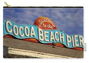 Cocoa Beach Pier Sign Carry-all Pouch