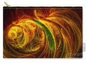 Cocoon Of Glowing Spirits Abstract Carry-all Pouch