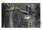 Code Of Hammurabi (detail) Carry-all Pouch by Granger