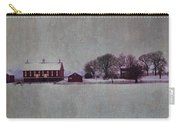 Codori Farm At Gettysburg In The Snow Carry-all Pouch