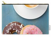 Coffee And Baked Donuts Carry-all Pouch