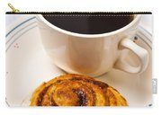 Coffee And Breakfast Roll Carry-all Pouch