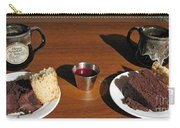 Coffee And Chocolate Cake. Mountain House Inn Carry-all Pouch