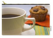 Coffee And Chocolate Muffin Carry-all Pouch