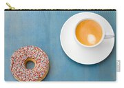 Coffee And Donut Carry-all Pouch